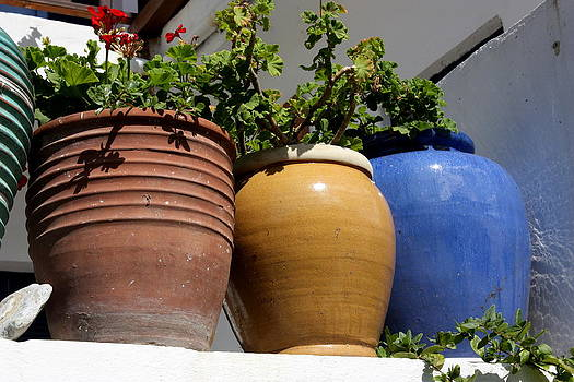 Yvonne Ayoub - Greek Pots