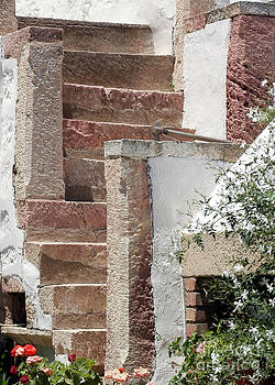 Sabrina L Ryan - Greek Staircase Patmos