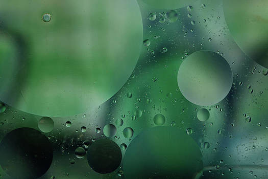 Roger Mullenhour - Green Abstract