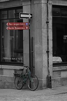 Green Bicycle by Kayla Mackay