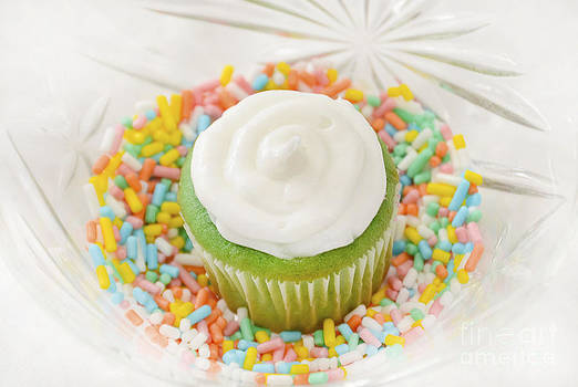 Green Cupcake by Anna Crowder
