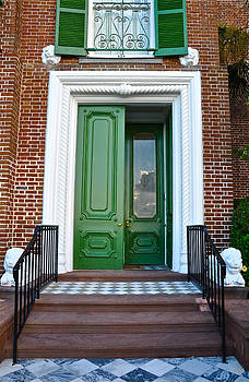 Green Door Charleston by Lori Kesten