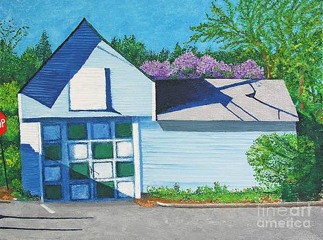Green Squares by Barbara Nolan