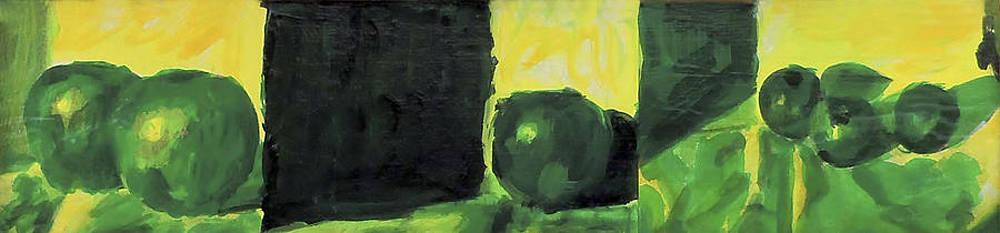 Green Still Life by Hatin Josee