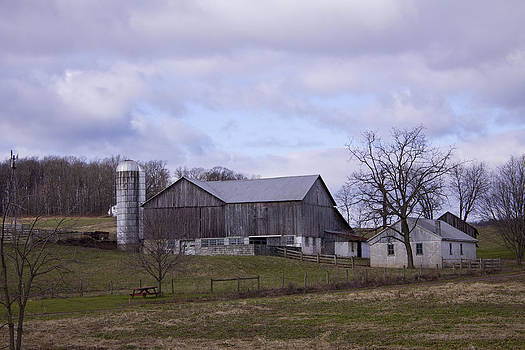 Grey Barn by Bridget Finn
