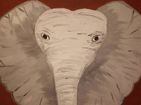 Grey Elephant by Victoria Golden