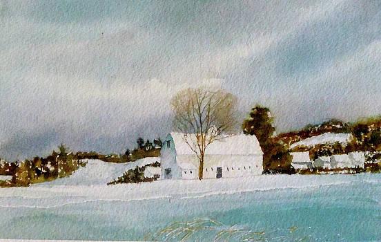 Groton Farm Winter by Harding Bush