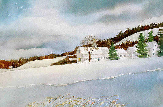 Groton Farm Winter III by Harding Bush