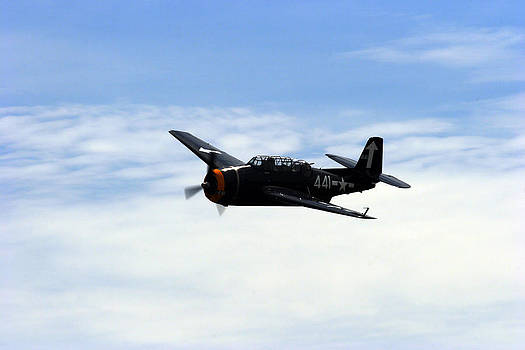Noel Elliot - Grumman Avenger Airplane