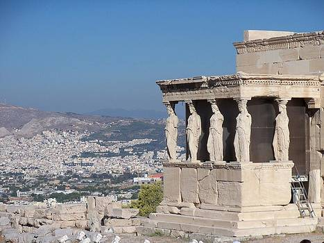 Guarding Athens by Sandy Collier