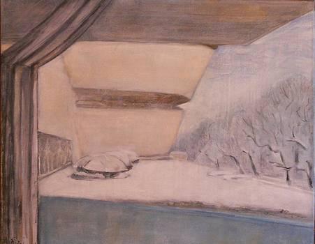 Guggenheim in winter by Viorica Stampfel