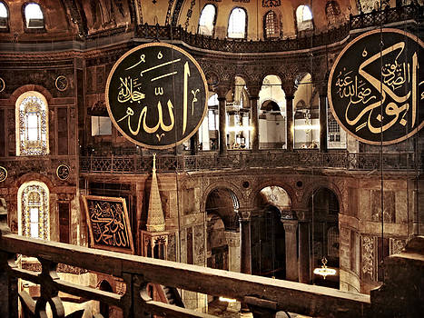 Hagia Sophia Gallery 2 by Guillaume Rodrigue