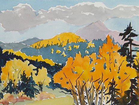 Hahns Peak From the Backside Hahns Peak Colorado by Zanobia Shalks