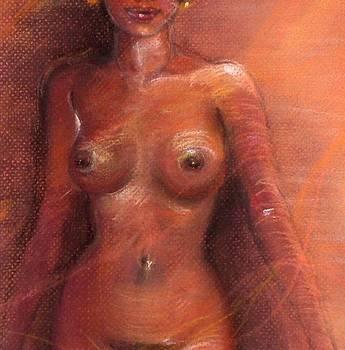 Halfnude by Carole Joyce