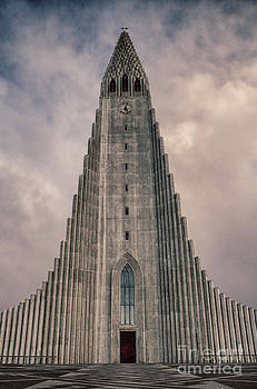 Hallgrimskirkja church Iceland by Miso Jovicic