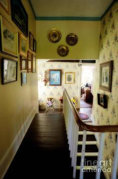 Dan Friend - Hallway in home of Anna Jarvis