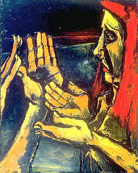 Kenneth Agnello - HANDS AS QUESTIONS - The Painting