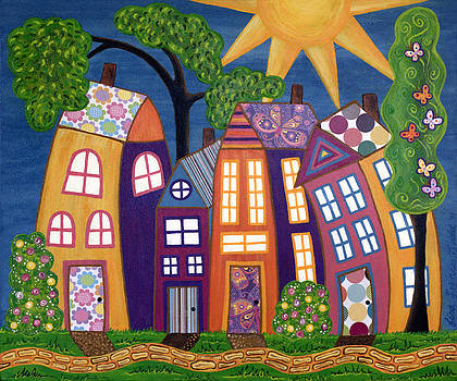 Happy Town by Lisa Frances Judd