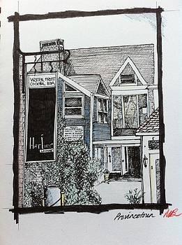 Harbor bar Provincetown by Mandy Beatson