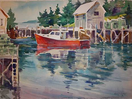 Harbor in Maine by Peter Spataro