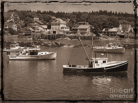 Harbor Stonington Maine by Jim Wright