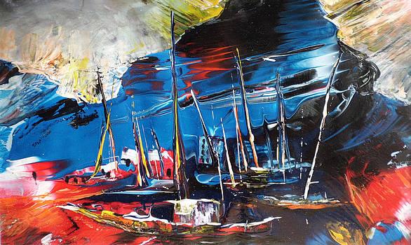 Miki De Goodaboom - Harbour in Spain
