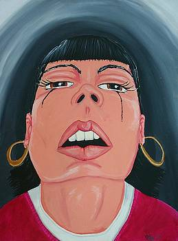 Harsh Reflection by Jose A Gonzalez