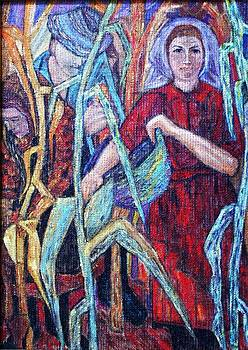 Harvest of maize by Camelia Apostol