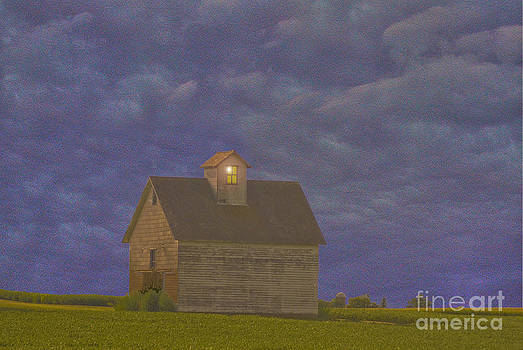 Haunted barn by Jim Wright