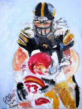 Jon Baldwin  Art - Hawkeye Football