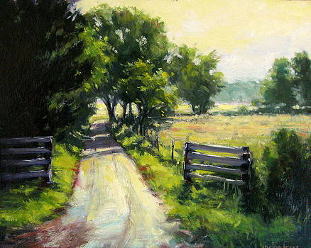 Hazy Summer Day by Vickie Fears