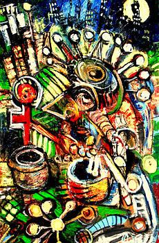 Jon Baldwin  Art - Head Like A Hole