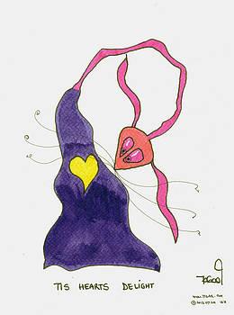 Heart's Delight by Tis Art