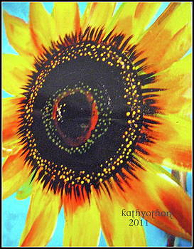 Hello Sunflower by Kathleen Othon