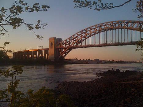 Hell's Gate Bridge Astoria by Paul Tripodis