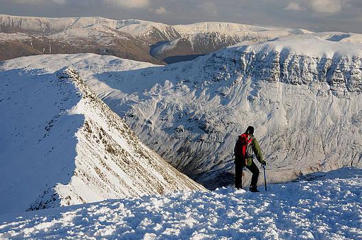 Helvellyn Winter by Stewart Smith
