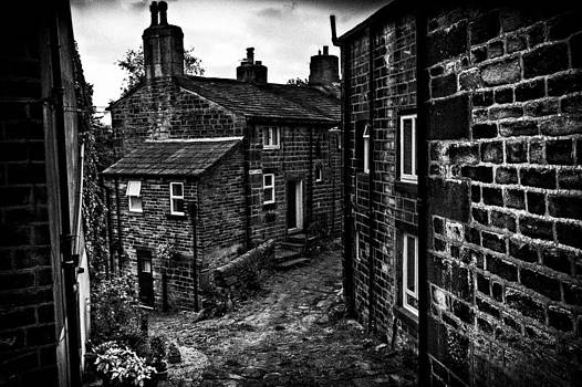 Heptonstall Village On The hill by Sandra Pledger
