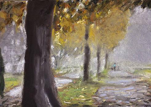 Paul Mitchell - Herne Bay Park Fog 1