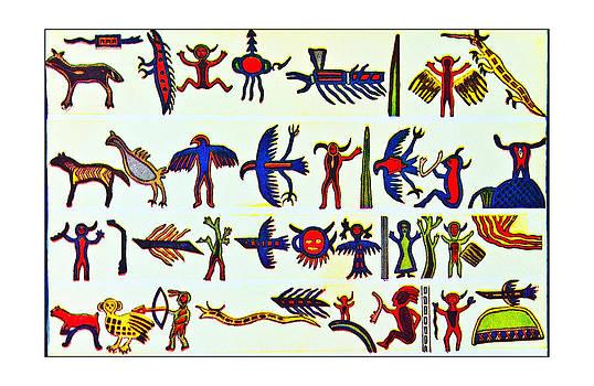 Hieroglyphics by Susan Leggett
