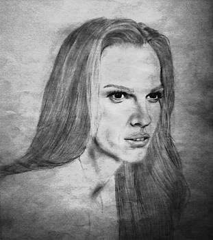 Hilary Swank by Elle Ryanoff