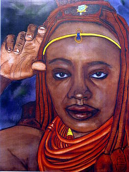Himba-Soulful eyes by Emmanuel Turner