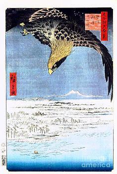 Hiroshige eagle by Theodora Brown