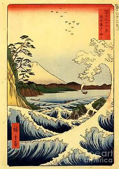 Hiroshige Landscape by Theodora Brown