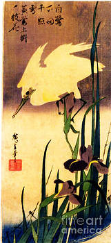 Hiroshige on bamboo by Theodora Brown