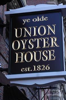 Historic Boston Landmark by Freda Sbordoni