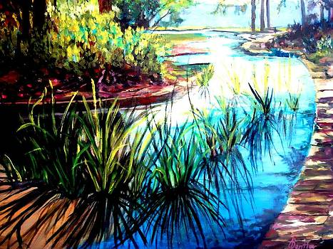 Hodges Gardens Reflections by AnnE Dentler