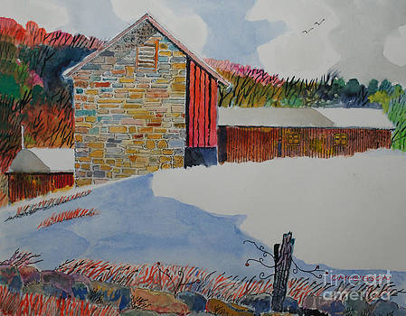 Hofstutz Farm by Donald McGibbon
