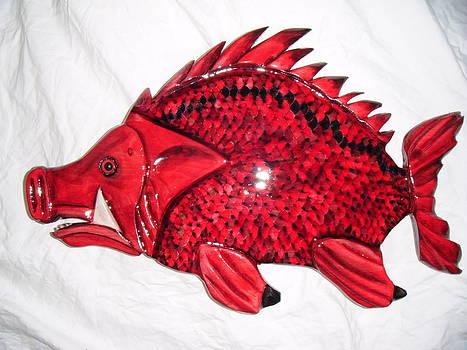 Hog Fish number one by Lisa Ruggiero