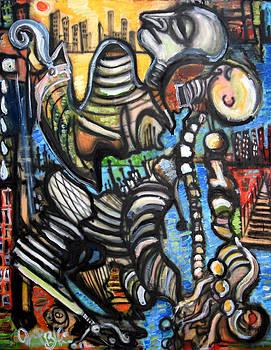 Jon Baldwin  Art - Hold On All Misery Gone