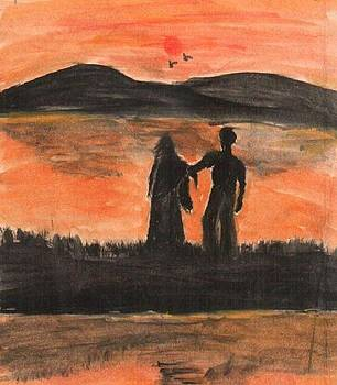 Holding Hands by Archana Saxena